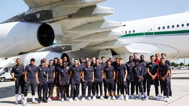 PSG viajó de gira a China como parte de su pretemporada