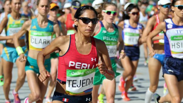 Gladys Tejeda será la única peruana en maratón en los Juegos Panamericanos 2019