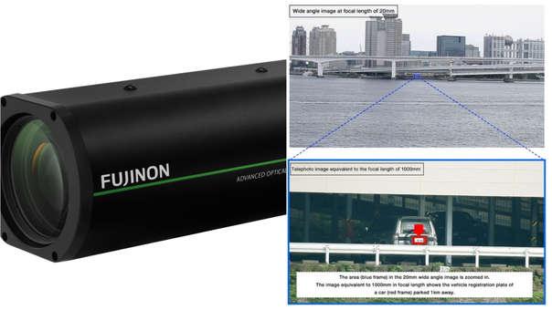 Fujifilm incursiona en las cámaras de seguridad.