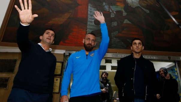 Boca Juniors oficializó a Daniele De Rossi como nuevo refuerzo
