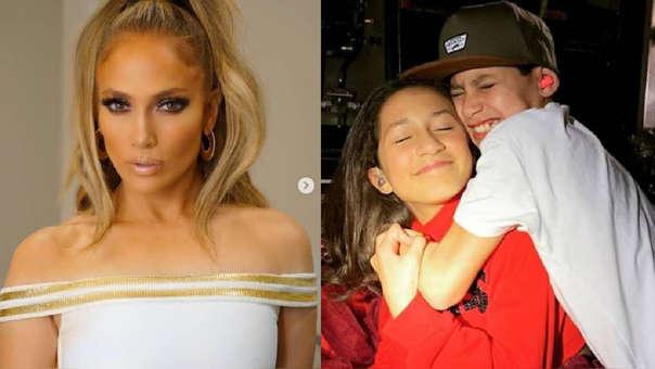 Jennifer Lopez cumplió 50 años y sus mellizos le prepararon tierna sorpresa.
