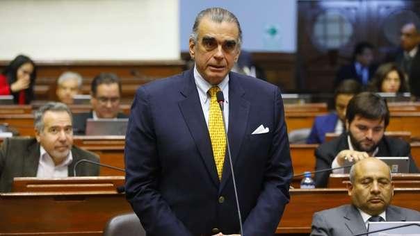 Pedro Olaechea reemplazará en el cargo a Daniel Salaverry.