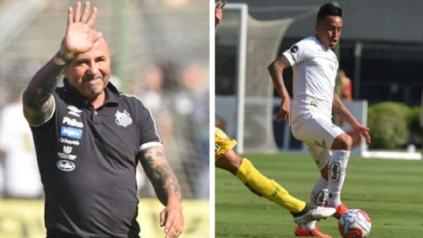 Christian Cueva quedó descartado para el partido de este fin de semana entre Santos y Avaí