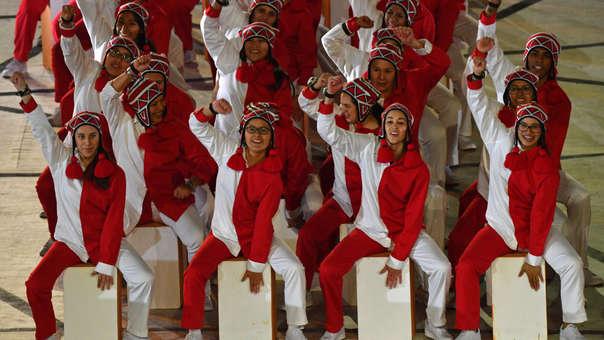 Cajón peruano se escuchó en la ceremonia de inauguración de los Juegos Panamericanos Lima 2019