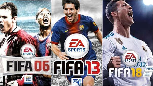 Algunas portadas recientes de FIFA.