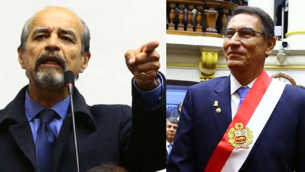 El congresista del APRA habló sobre la propuesta de Martín Vizcarra.