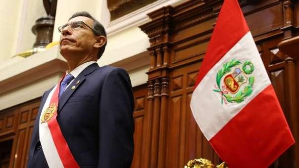 Martín Vizcarra anunció que presentará una reforma constitucional de adelanto de elecciones.