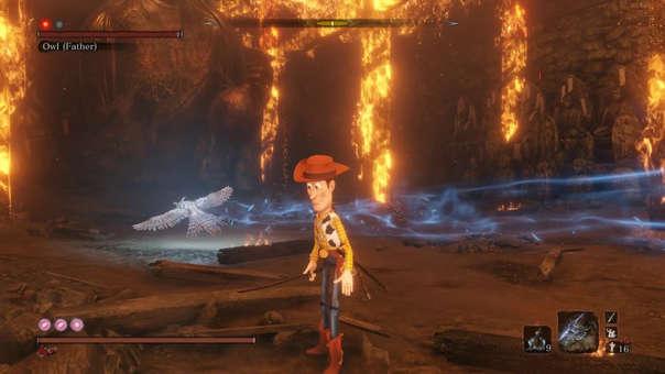 Woody se convierte en el protagonista de Sekiro: Shadows die Twice