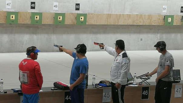 Marko Carrillo inicia su participación en 10m pistola de aire en Juegos Panamericanos Lima 2019