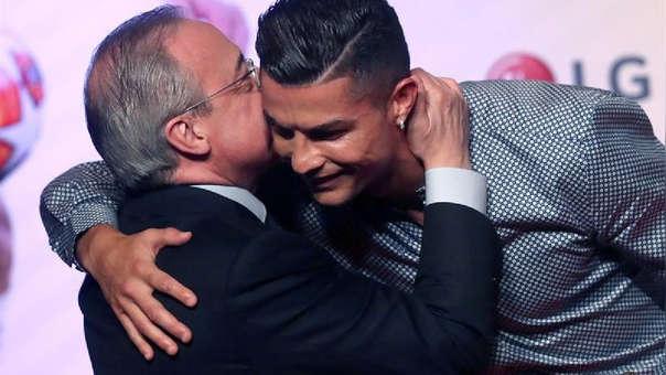 Cristiano Ronaldo se reencontró con Florentino Pérez