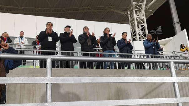 Ricardo Gareca asistió al partido entre Perú y Uruguay por los Juegos Panamericanos Lima 2019