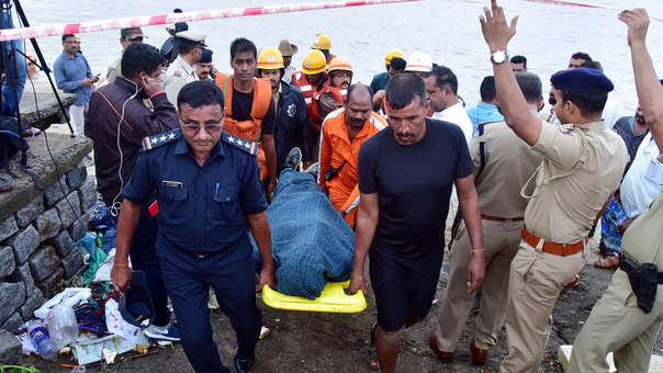 V.G. Siddhartha fue visto por última vez el lunes.