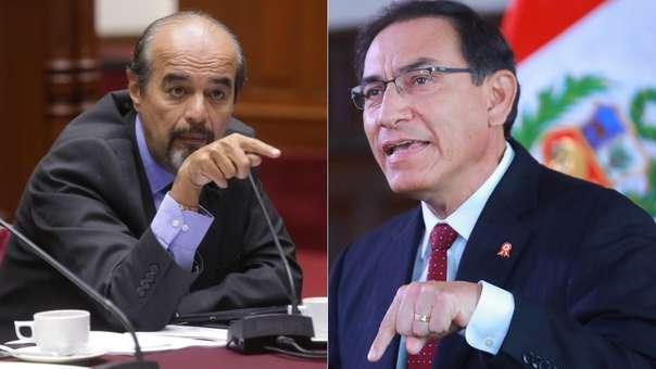 Mauricio Mulder criticó al presidente Martín Vizcarra.
