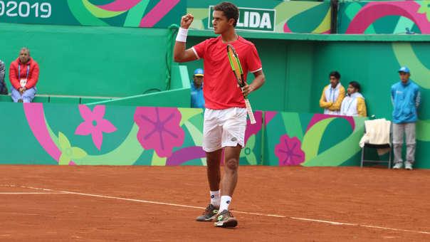Juan Pablo Varillas clasificó a cuartos de final de tenis en los Juegos Panamericanos 2019