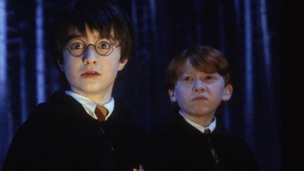 Harry Potter y Ron Weasley