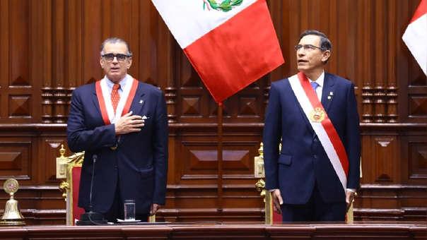 Crisis política entre el Ejecutivo y Legislativo