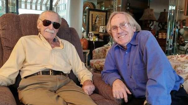 Roy Thomas y Stan Lee