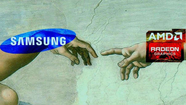 The collaboration between Samsung and AMD will be released in 2021