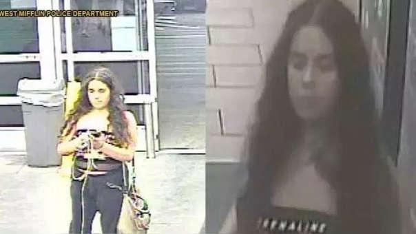Las imágenes con las que Grace Brown llegó a ser identificada.