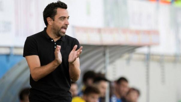 Xavi Hernández explotó en su primer partido como entrenador