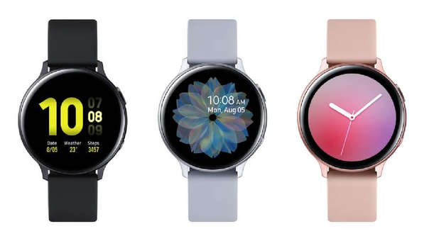 Samsung presents the Galaxy Active2, smart watch with which you can connect to social networks
