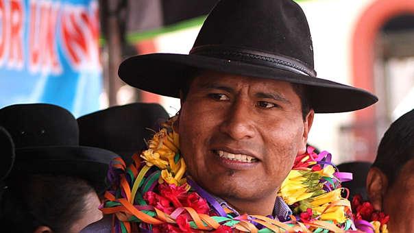 Aduviri Calisaya es investigado por el delito de disturbios, por el conocido caso del 'Aymarazo'.