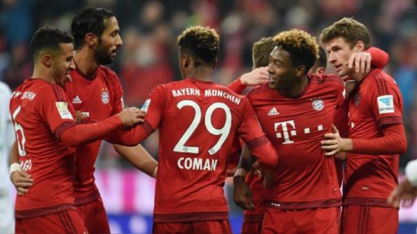 Apabullante victoria del Bayern Munich