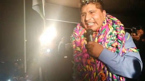 El Poder Judicial ordenó 15 días de prisión preventiva por quince días del gobernador regional de Puno.