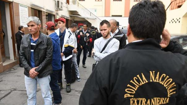 Fueron 46 los ciudadanos venezolanos expulsados por tener antecedentes policiales.