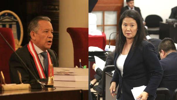 Magistrado Hugo Príncipe-Keiko Fujimori