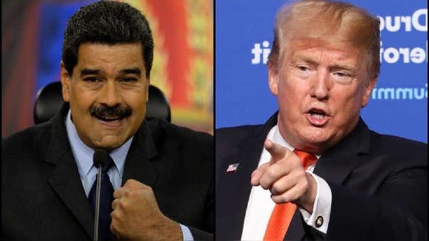Resultado de imagen para Marcha sabado 10 agosto 2019 chavismo No more Trump Nicolas Maduro