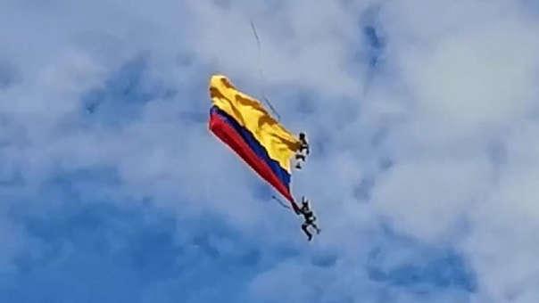 Tragedia en Medellín: dos uniformados murieron en medio de espectáculo aéreo