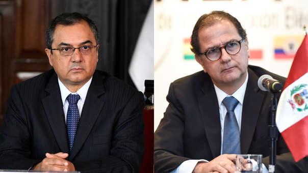 Carlos Oliva y Francisco Ísmodes