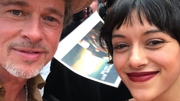 Brad Pitt y Jely Reategui