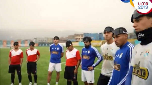 Así como la 'U' y Alianza: plantel de Sporting Cristal enfrentó a Selección de Fútbol 5