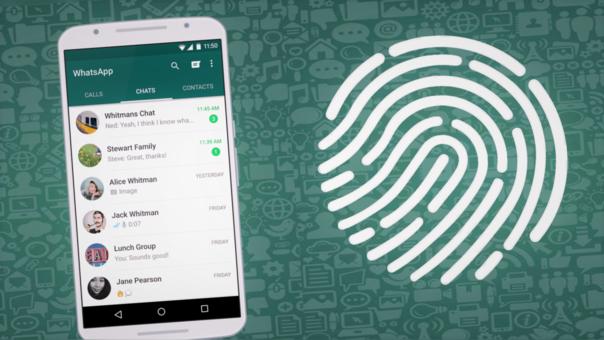 WhatsApp pronto traerá el sensor de huellas a todos los usuarios