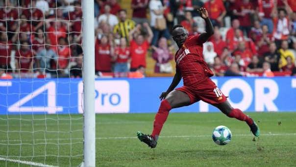 Entró Firmino y Liverpool empató: así fue el gol de Sadio Mané