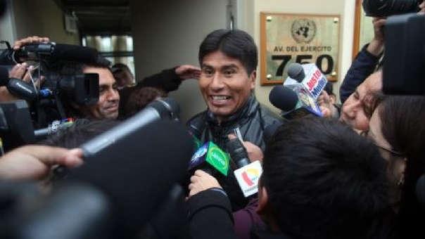 La defensa del dirigente aymara argumentó durante el proceso que Walter Aduviri nunca planificó las violentas protestas de mayo de 2011.