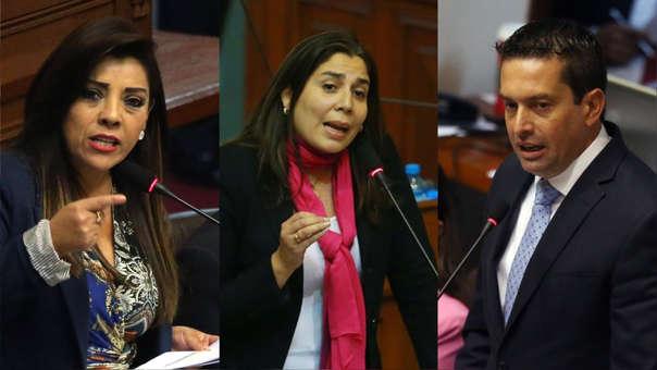 Los legisladores Alejandra Aramayo, Úrsula Letona y Miguel Torres no continuarán en la Comisión Permanente del Congreso.