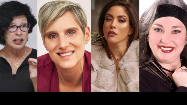 Michelle Alexander, Morella Petrozzi, Tilsa Lozano e Isabel Iñigo.