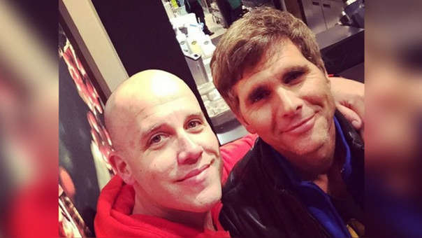 Christian Meier y Gian Marco