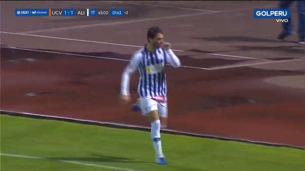Felipe Rodríguez anotó de penal en el Mansiche de Trujillo