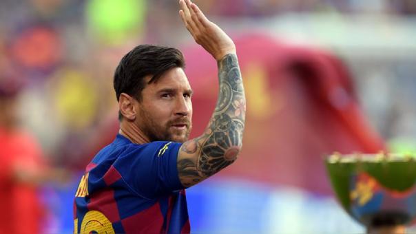 Lionel Messi entrenó por separado