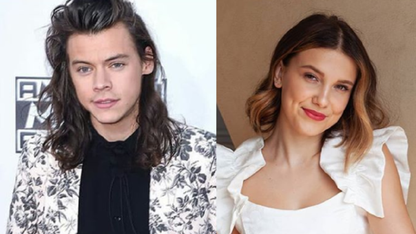 Harry Styles y Millie Bobby Brown