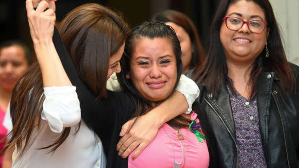 EL SALVADOR-JUSTICE-ABORTION-TRIAL-VEREDICT
