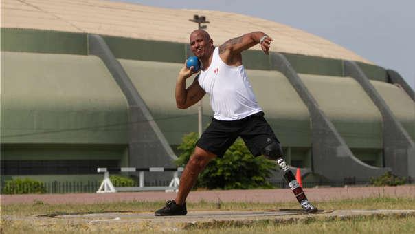 Carlos Felipa competirá en lanzamiento de bala en los Juegos Parapanamericanos