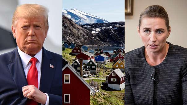 Donald Trump-Mette Frederiksen
