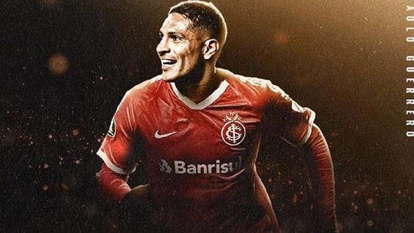Paolo Guerrero  es el goleador del Inter de Porto Alegre en la Copa Libertaadores