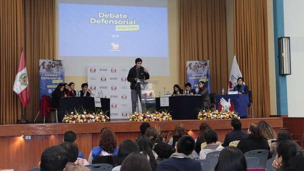 Hasta el 26 de agosto estarán abiertas las inscripciones para los equipos de estudiantes de las universidades de Lima Norte interesados en participar del Debate Universitario.