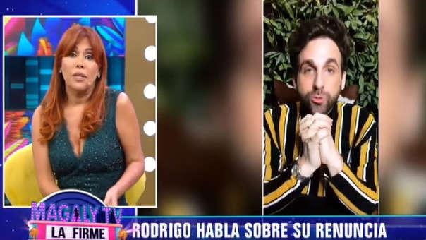 """Magaly Medina se solidariza con Rodrigo González 'Peluchín':  """"Yo lo hubiera sentido como un ataque"""""""